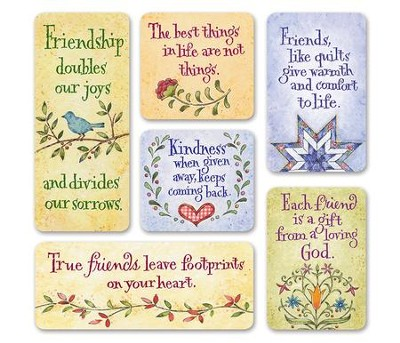 Amish Magnets, Set of 6  -