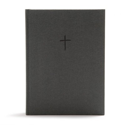 CSB Apologetics Study Bible for Students, charcoal cloth over board  -