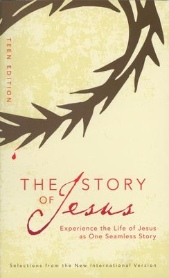 The Story of Jesus: Teen Edition, Blue - Slightly Imperfect  -
