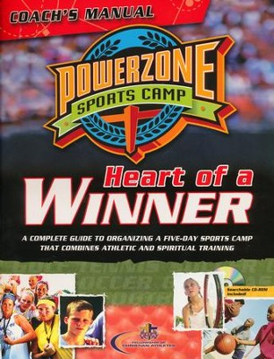 PowerZone Sports Camp Coach's Manual: Heart of a Winner   -