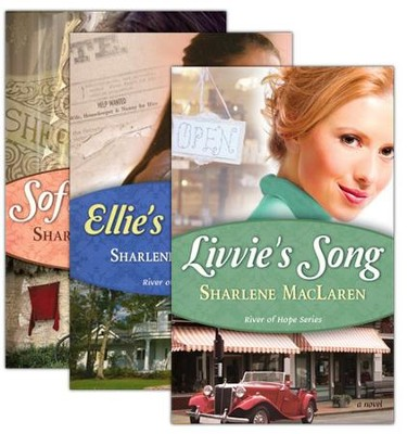 River of Hope Series, Vols. 1-3   -     By: Sharlene MacLaren