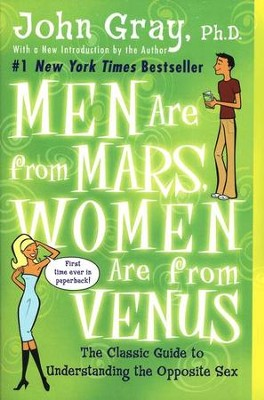 Men Are From Mars, Women Are From Venus  -     By: John Gray