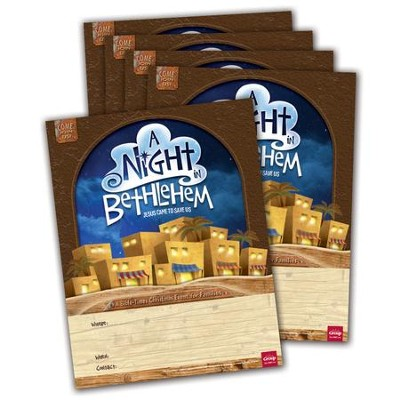 A Night in Bethlehem Publicity Posters, pack of 5   -
