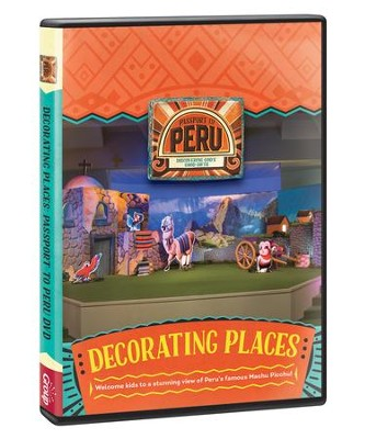 Passport to Peru VBS: Decorating Places DVD   -