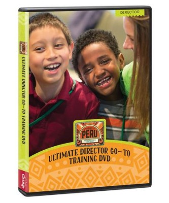 Passport to Peru VBS: Ultimate Director Go-to Recruiting & Training DVD   -
