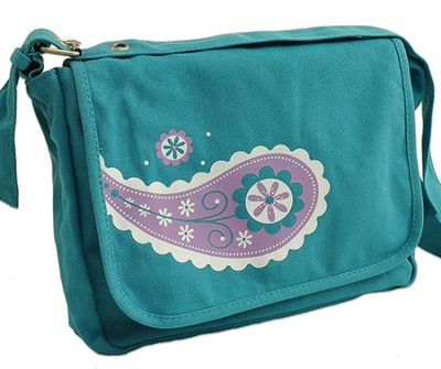 Girls Messenger Bag Medium  -     By: Zondervan
