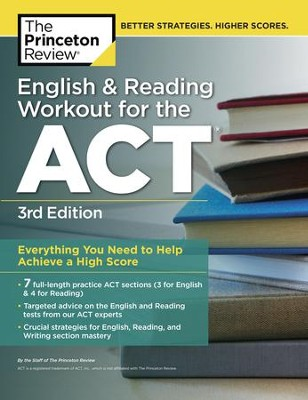 English and Reading Workout for the ACT, 3rd Edition - eBook  -     By: Princeton Review