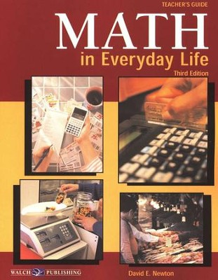 Math in Everyday Life Teacher's Guide  -     By: David Newton