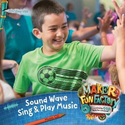 Maker Fun Factory VBS: Sound Wave: Sing & Play Music CD   -