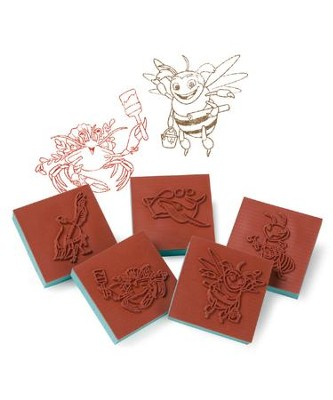 Maker Fun Factory VBS: Bible Memory Buddy Stampers, 5 pk   -