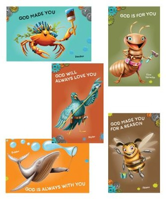 Maker Fun Factory VBS: Bible Point Posters, 6 pk   -
