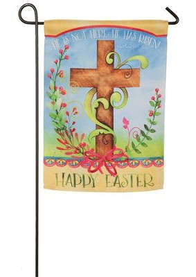 Easter Blessing Suede Flag, Small  -