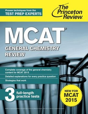 MCAT General Chemistry Review: New for MCAT 2015 - eBook  -