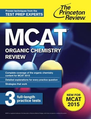 MCAT Organic Chemistry Review: New for MCAT 2015 - eBook  -