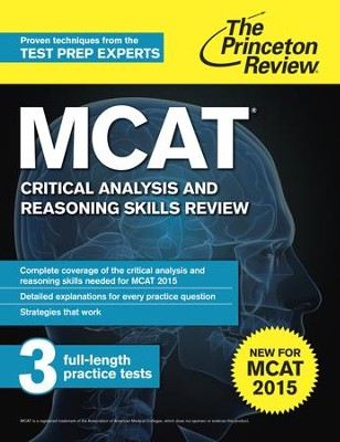 MCAT Critical Analysis and Reasoning Skills Review: New for MCAT 2015 - eBook  -
