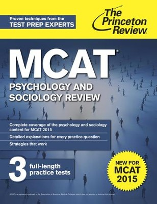 MCAT Psychology and Sociology Review: New for MCAT 2015 - eBook  -