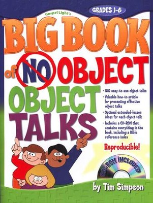 The Big Book of No-Object Object Talks with CD-ROM   -     By: Tim Simpson