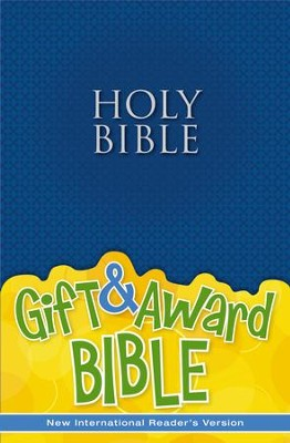 NIrV Gift & Award Bible, Blue  -