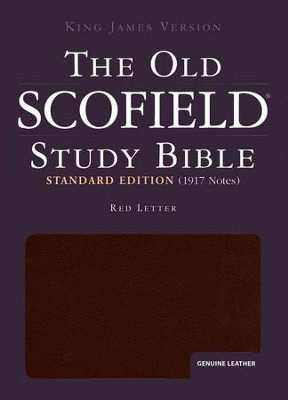 The Old Scofield Study Bible, KJV Standard Edition Genuine Leather Burgundy Indexed  -     Edited By: C.I. Scofield     By: C.I. Scofield