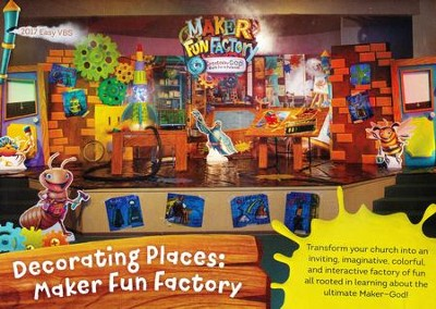 Maker Fun Factory VBS: Decorating Places DVD   -