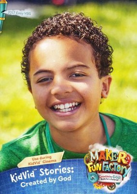 Maker Fun Factory VBS: KidVid Stories: Created by God DVD   -