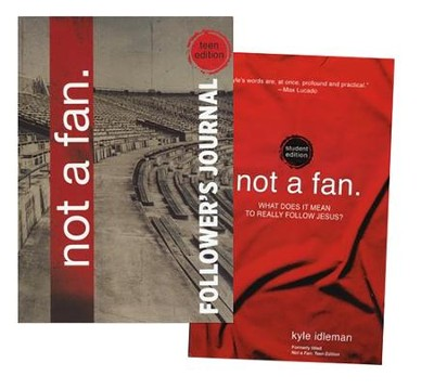 Not a Fan: Student Edition--Book and Journal, 2 Volumes  -