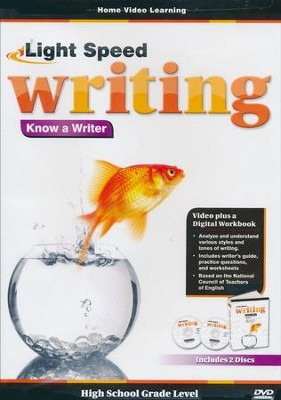 Light Speed Writing: Know a Writer DVD   -
