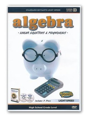 Light Speed Algebra: Linear Equations and Polynomials DVD  -