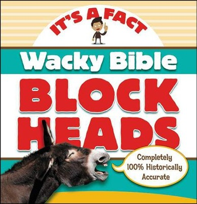 Wacky Bible Blockheads  -     By: Zondervan