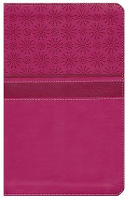 NIrV Gift Bible, Duo-Tone Hot Pink  -