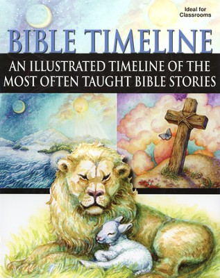Bible Timeline: An Illustrated Timeline of the Most Often Taught Bible Stories  -