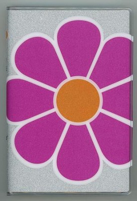 NIV Glitter Bible Collection Pink Flower, Flexble cover   -