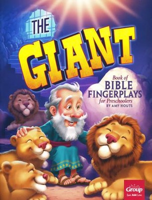 The Giant Book of Bible Fingerplays for Preschoolers  -     By: Amy Houts