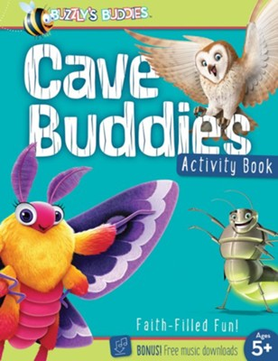 Buzzly's Buddies: Cave Buddies Activity Book  -