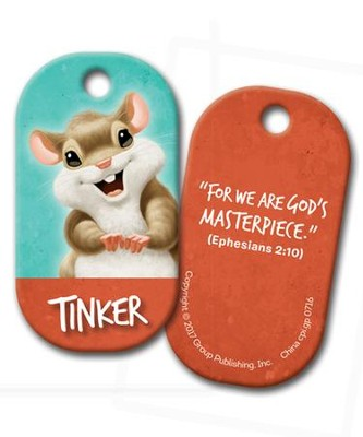 Tinker Buddy Tag, pack of 5  -
