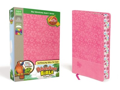NIrV Adventure Bible for Early Readers, Hot Pink  -     By: Lawrence O. Richards