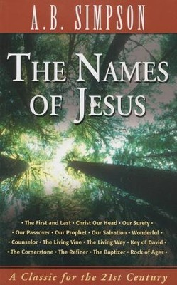 The Names of Jesus - eBook  -     By: A.B. Simpson