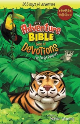 NIrV, Adventure Bible Book of Devotions for Early Readers  -     By: Marnie Wooding