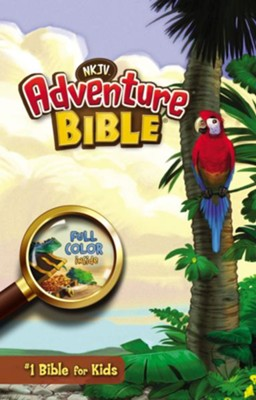 NKJV Adventure Bible, Hardcover  -