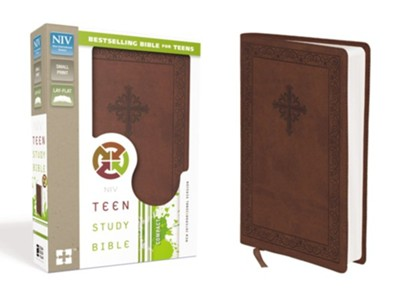 NIV Teen Study Bible Compact, Italian Duo-Tone, Sienna  -     By: Lawrence O. Richards, Sue W. Richards