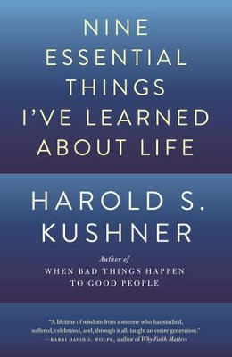 Nine Essential Things I've Learned About Life - eBook  -     By: Harold S. Kushner
