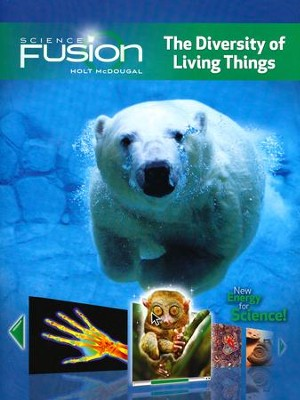 Science Fusion Module B: The Diversity of Living Things, Grades 6-8     -