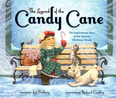 The Legend of the Candy Cane (Board Book)  -     By: Lori Walburg