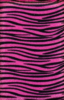 NIV Plush Bible, Thinline, Pink Zebra  -