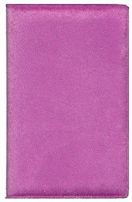 NIrV Plush Bible, Thinline, Purple Sparkle  -