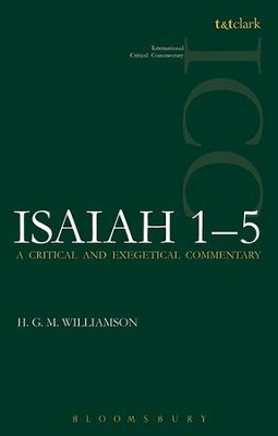 Isaiah 1-5: International Critical Commentary [ICC]   -     By: Hugh Williamson