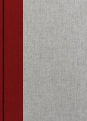 Holman Study Bible: NKJV Edition, Crimson and Gray Cloth Over Board  -
