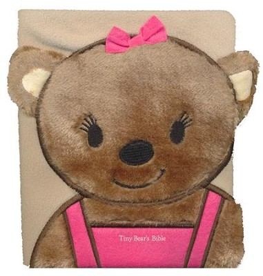 Tiny Bears Bible, Pink, Board Book  -     By: Sally Lloyd-Jones, Igor Oleynikov