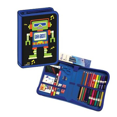 K-4 All-in-One School Supplies / Art Kit Robot Design   -
