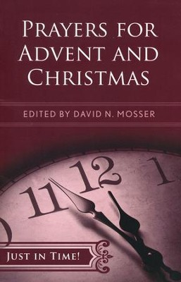 Prayers for Advent and Christmas  -     By: David N. Mosser